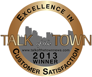 Real Computer Solutions - Talk of the Town News Customer Satisfaction 2013 Award